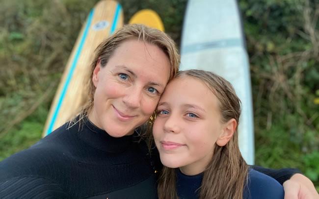 Debra Searle - Debra with her daughter