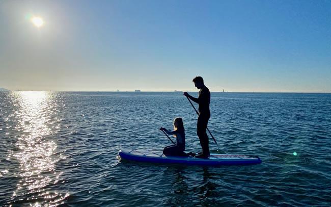 Debra Searle - Paddleboarding
