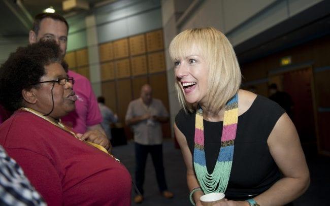 Debra Searle - Meeting people