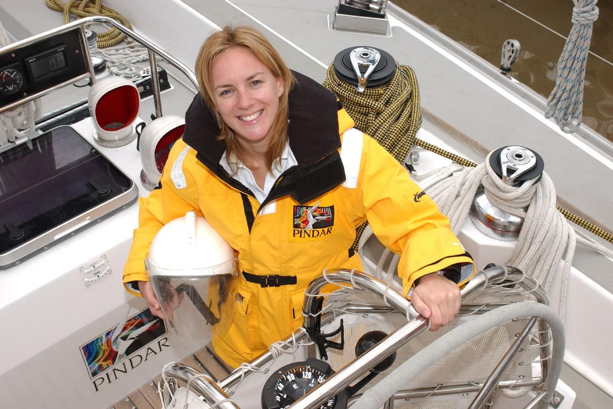 Debra Searle - Sailing around Antartica