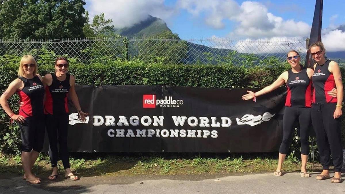 Debra Searle - Dragon Board World Championships
