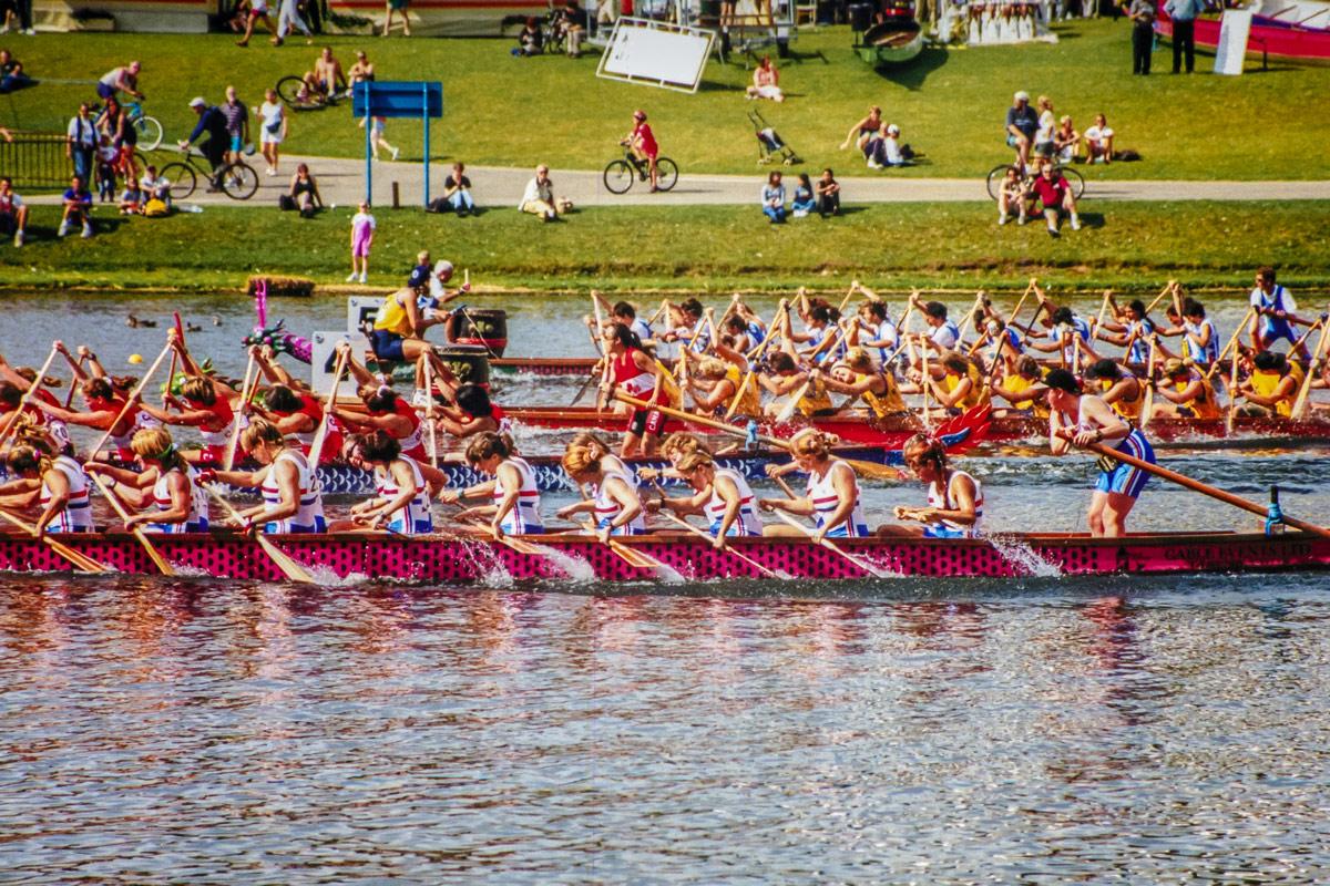 Debra Searle - Dragon Boat Racing