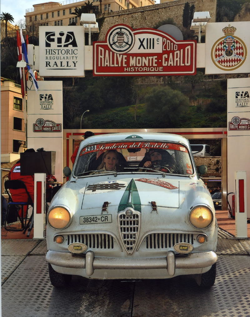 Debra Searle - Monte Carlo Rally Historique