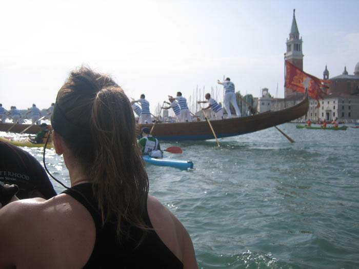 Debra Searle - The Vogalonga, Venice