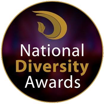 Debra Searle - National Diversity Awards logo