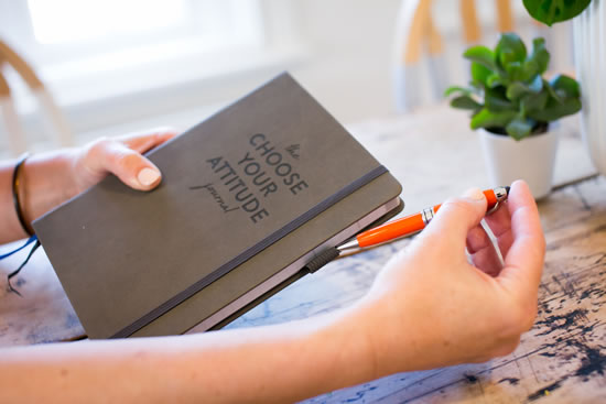 Debra Searle MVO MBE - The Choose Your Attitude Journal