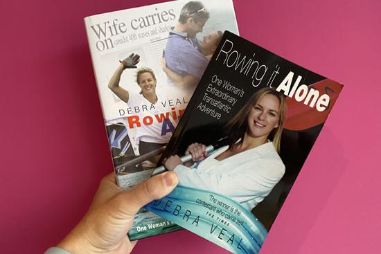 Debra Searle MVO MBE - Rowing It Alone book