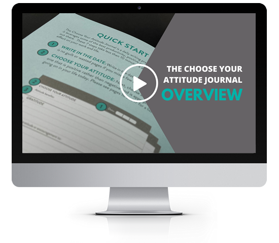 Debra Searle - Overview of the Choose Your Attitude Journal